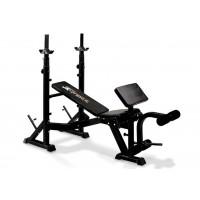 JK 6070 Panca regolabile con porta bilanciere professionale JK Fitness
